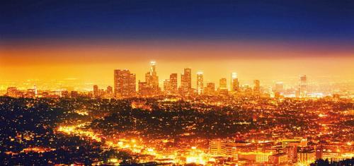 obraz Světelný smog