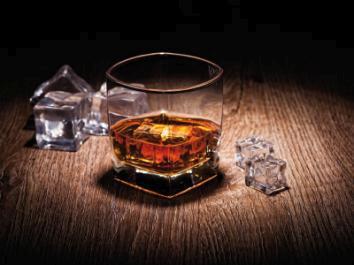 obraz Whisky on the rocks