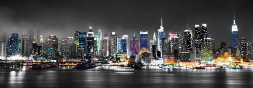 obraz New York Manhattan skyline