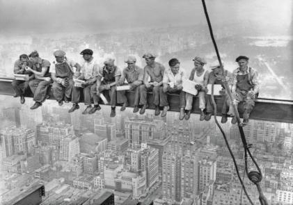 obraz Svačina nad Manhattanem (Eating above Manhattan)