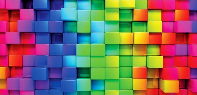 obraz Barevné čtverce