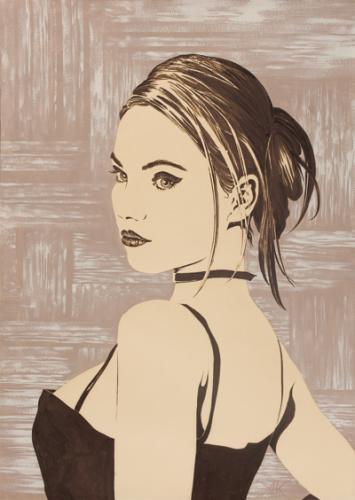 obraz Dívka I