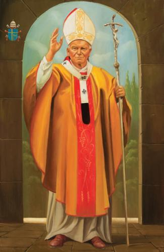 obraz Jan Pavel II