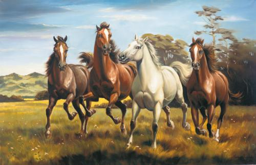 obraz Koně II