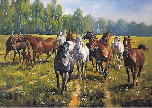 obraz Koně I