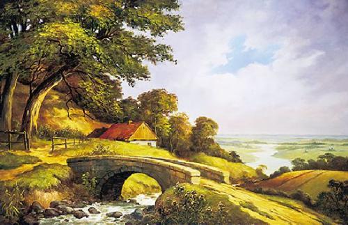 obraz Mostek I