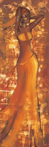 obraz Vázající šátek