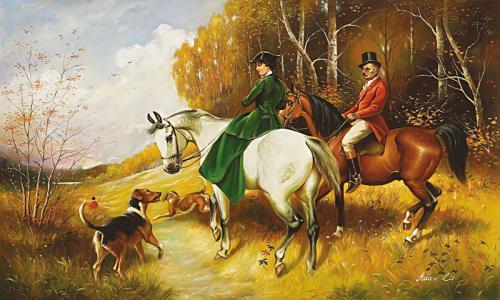 obraz Projížďka