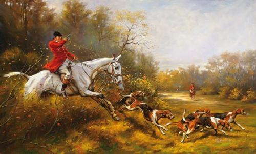 obraz Poľovníctvo