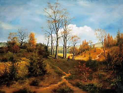 obraz Jeseň, pohoria