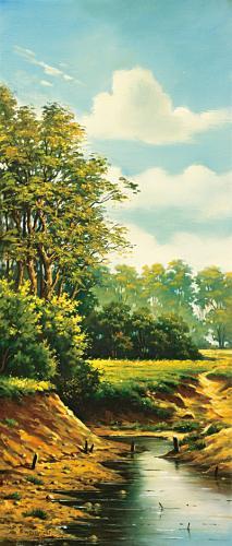 obraz Říčka II