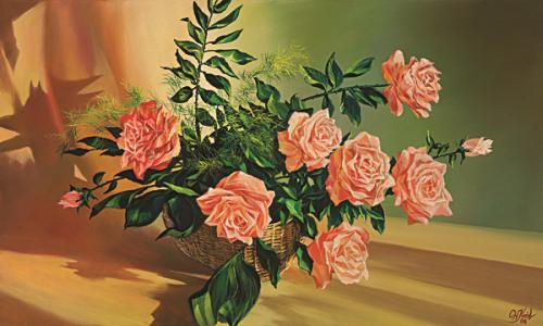 obraz Růže III