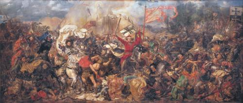 obraz Bitva pod Grunwaldem