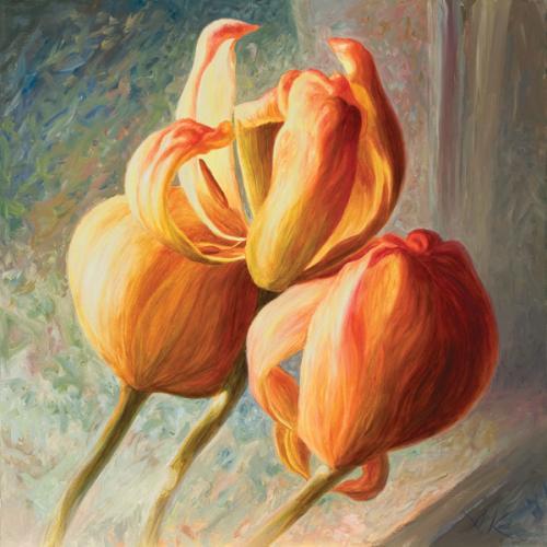 obraz Tulipán II
