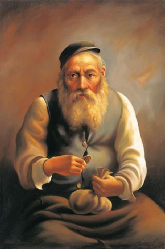 obraz Žid III