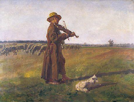 obraz Pastier