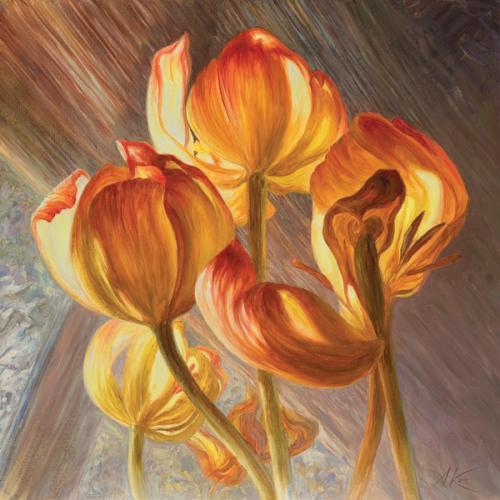 obraz Tulipán IV