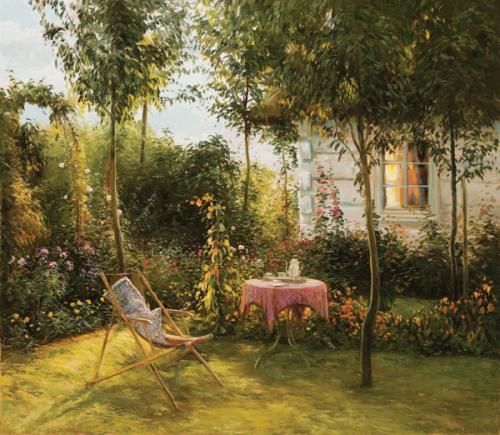 obraz Dům v zahradě II