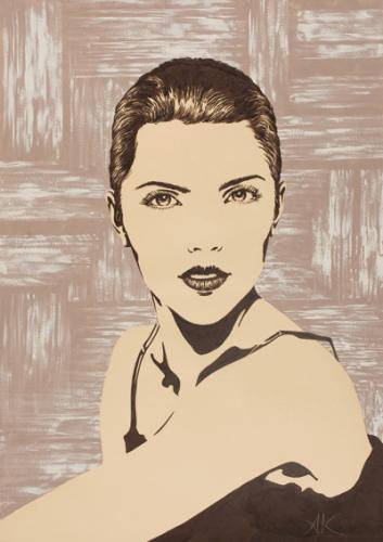 obraz Dívka II