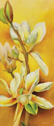 obraz Žlutá magnólie