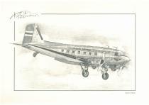 obrazy, reprodukce, Historický letoun Dakota Norway