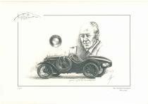 obrazy, reprodukce, Veterán BMW 3/15 PS DA 3 Wartburg Sport