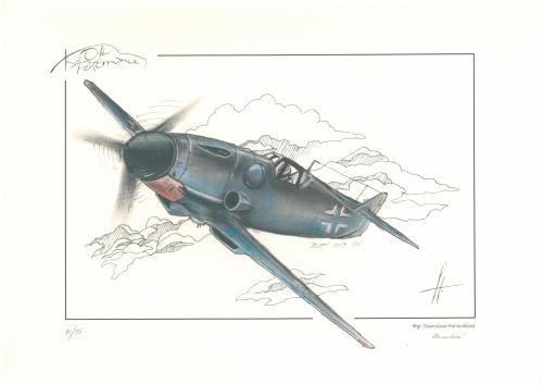 obraz Stíhací letoun Messerschmitt Bf 109 G6