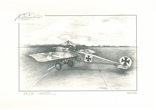 obraz Stíhací letoun Fokker E III.